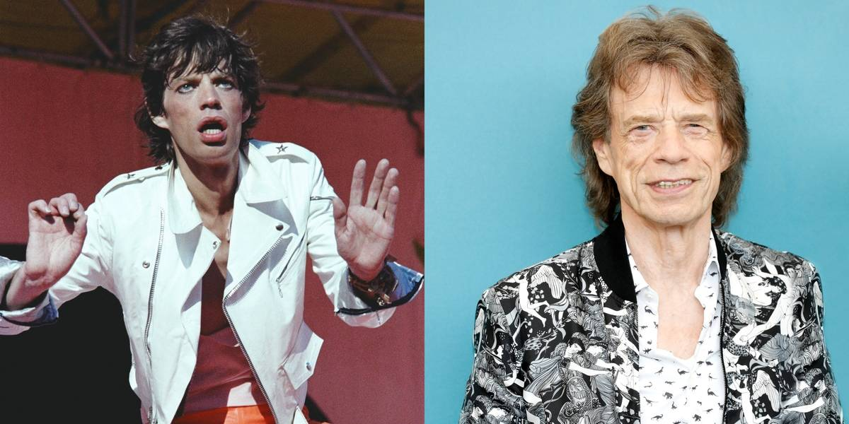 Mick Jagger's Face Now Sports A Line Or Two