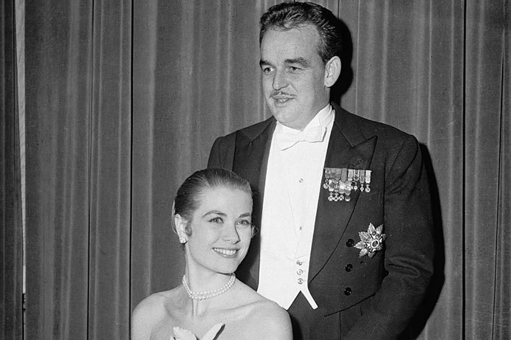 Picture of Prince Rainer and Grace Kelly