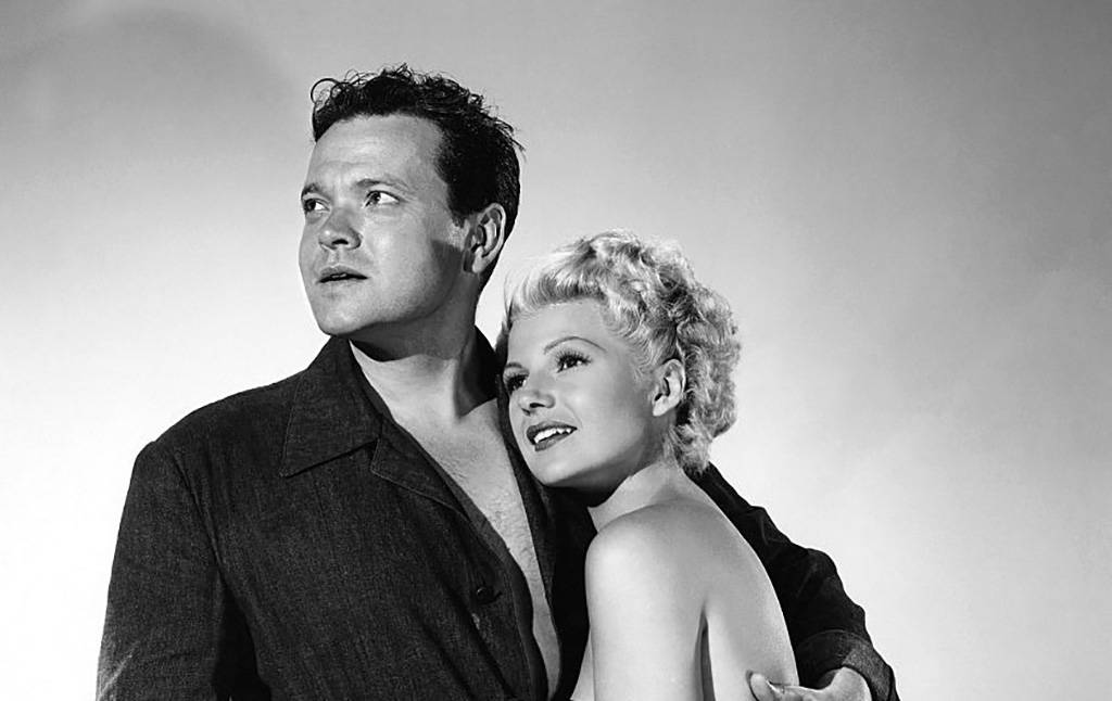 Picture of Rita Hayworth and Orson Wells