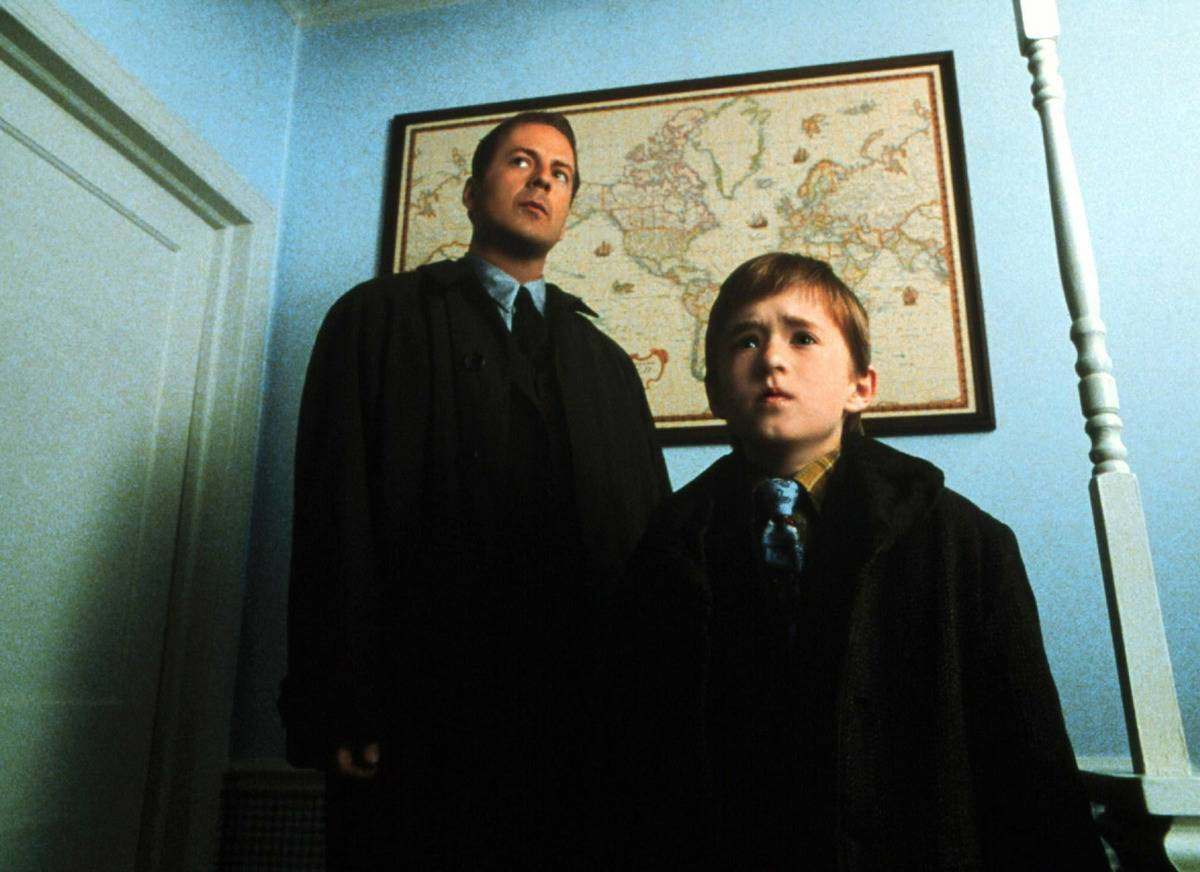 Osment and Willis in the Sixth Sense