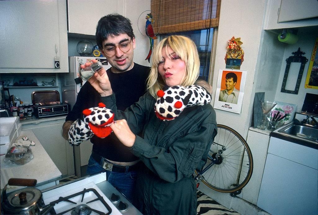 blondie cooking in the kitchen