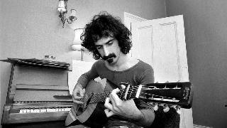 frank zappa playing guitar