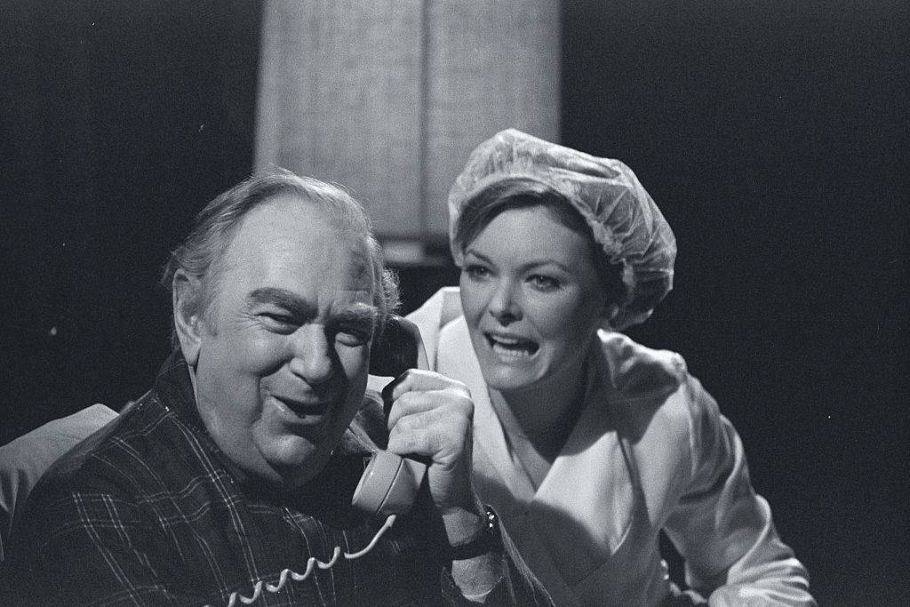 jane curtin and ray goulding on SNL