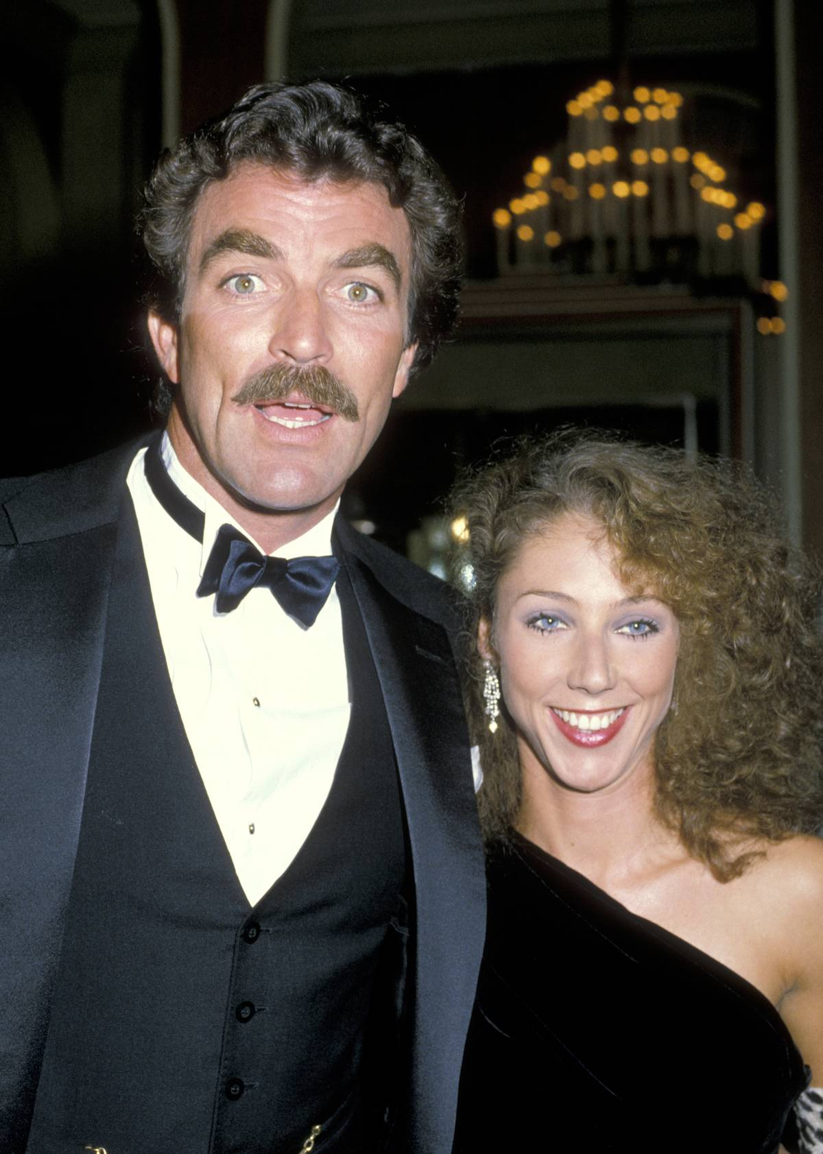 41st Annual Golden Globe Awards Selleck and Mack