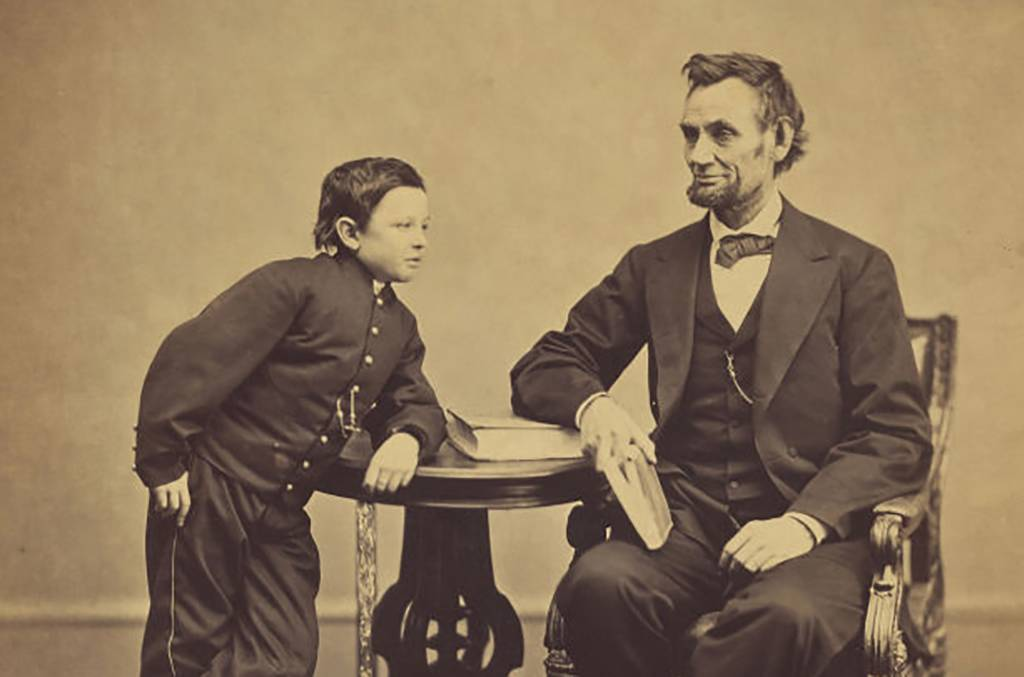 Picture of Lincoln and his son
