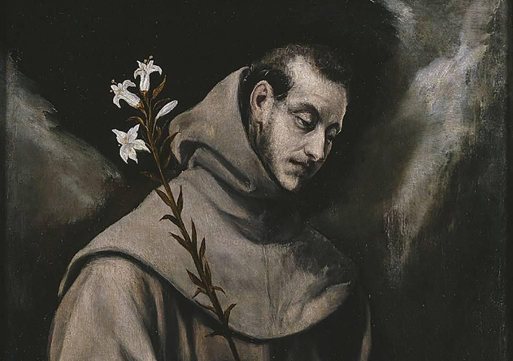 Portrait of Saint Anthony