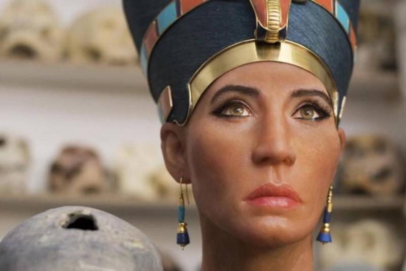 3D of Nefertiti