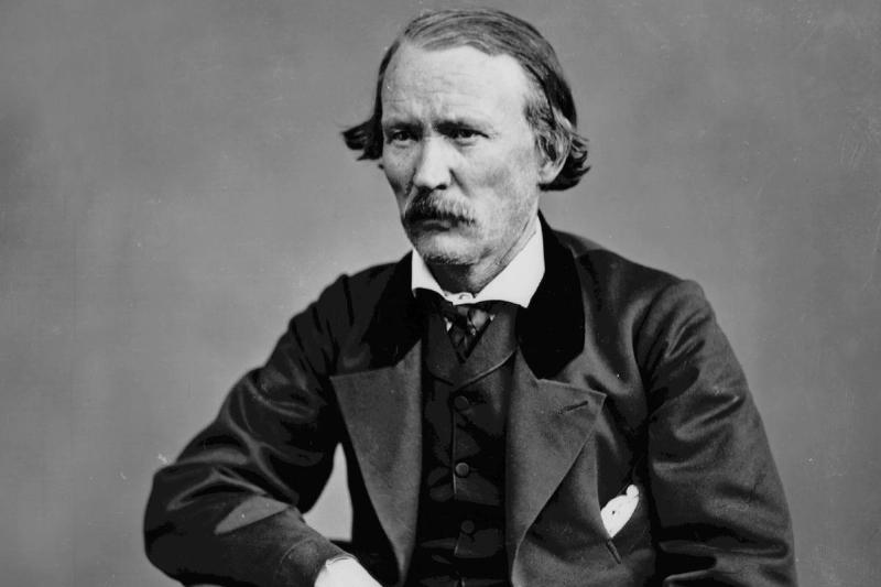 Christopher Houston said Kit Carson (1809-1868) legend of american west, he was trapper, indian agent