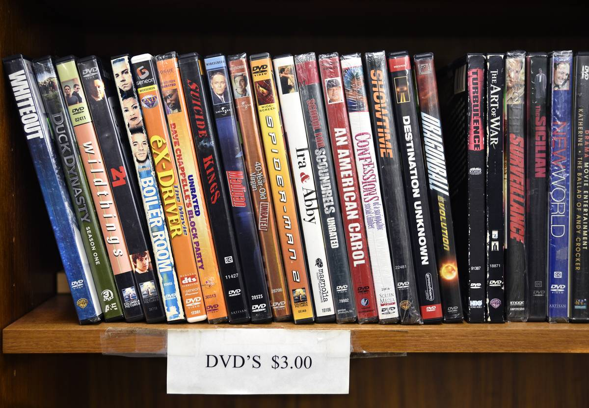 Used DVD videos for sale