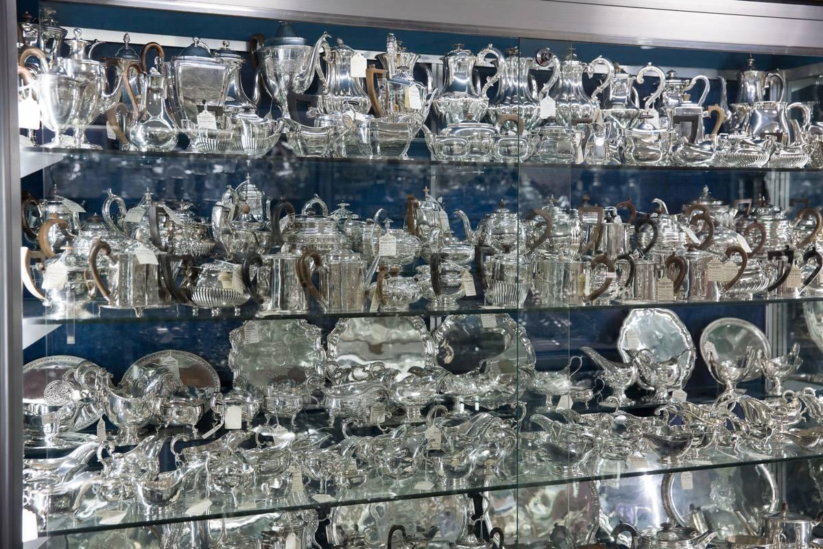 Inside Londons Hidden Silver Vaults