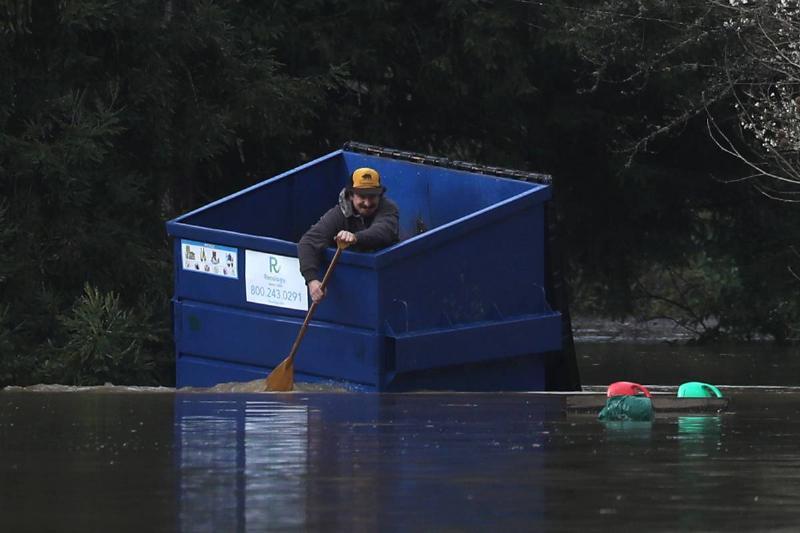 Russian River Flood