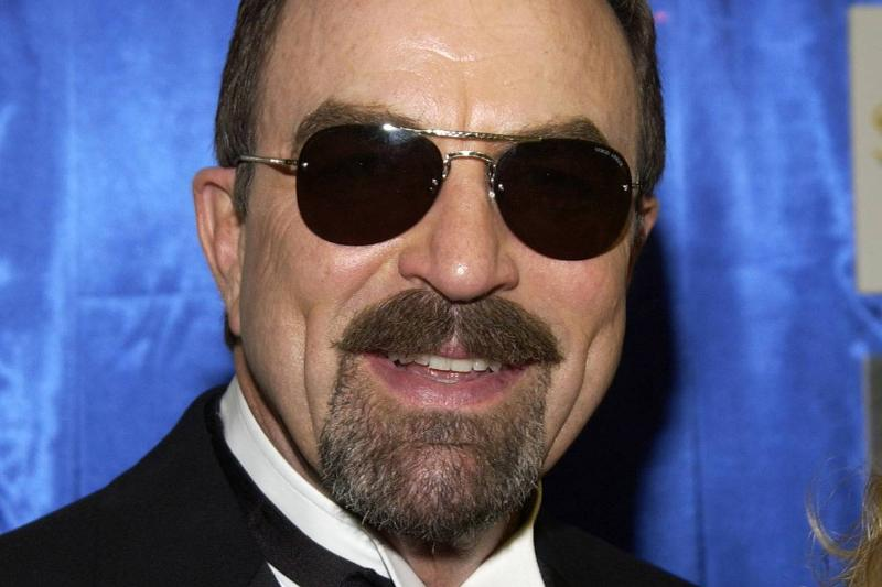 Solstice Sunglass Boutique at the 2005 People's Choice Awards smiling Selleck