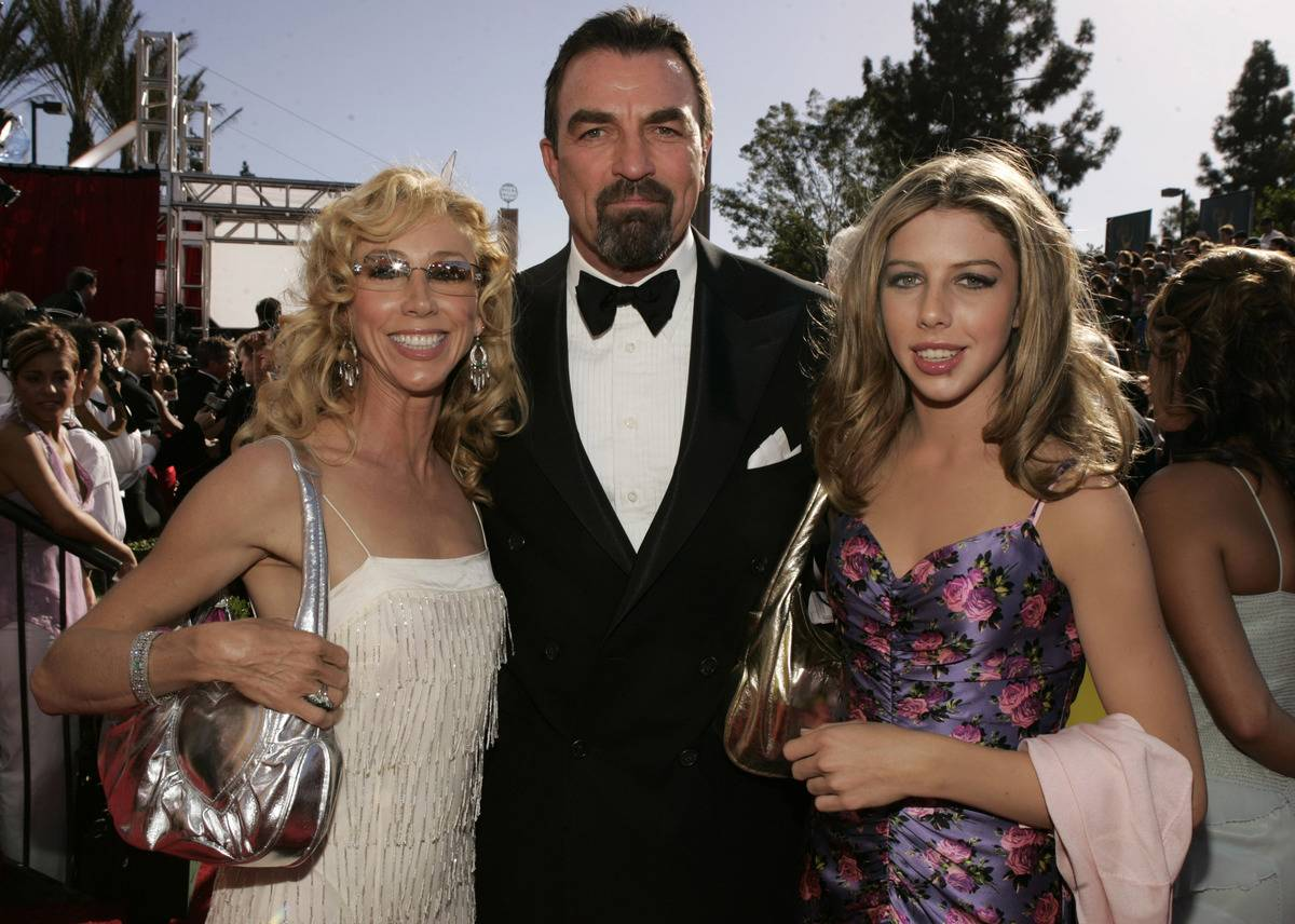 The 56th Annual Primetime Emmy Awards - Arrivals with his family