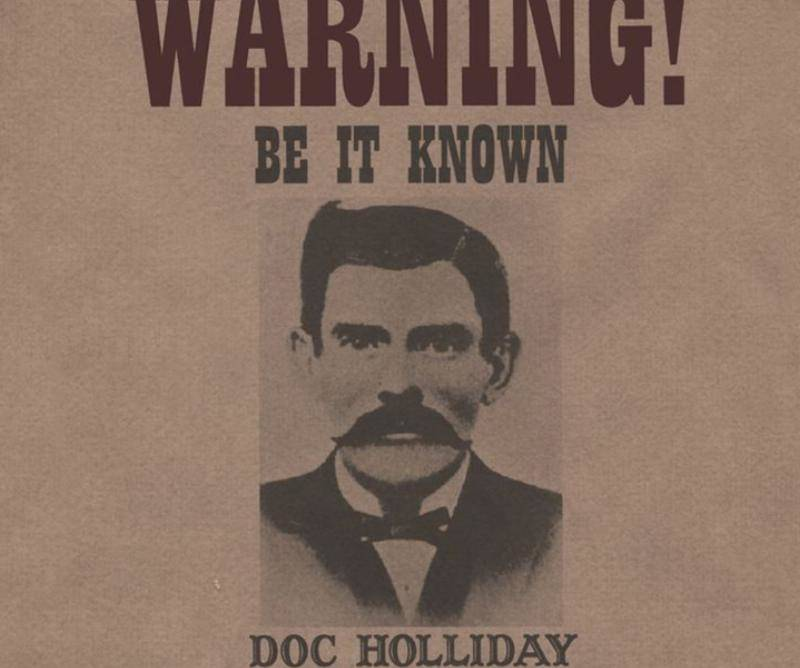 wanted-Doc-Holliday-sign-40406