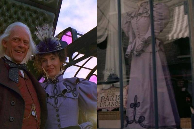 A Purple Dress From Back to the Future Part III Shows Up In Far And Away