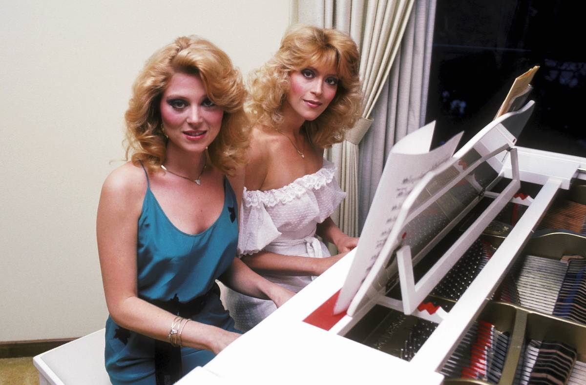 Exclusive Photo Session with Audrey Landers and Judy Landers