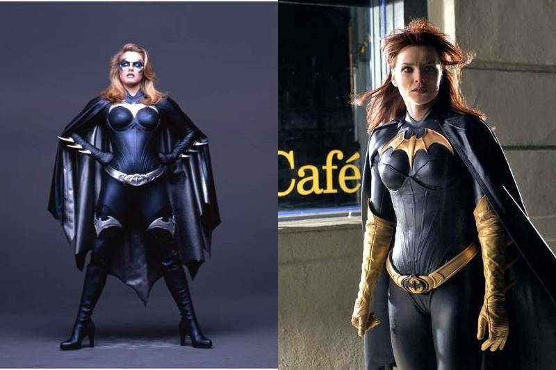 Batgirl's Suit Is Seen In Batman & Robin And Birds Of Prey