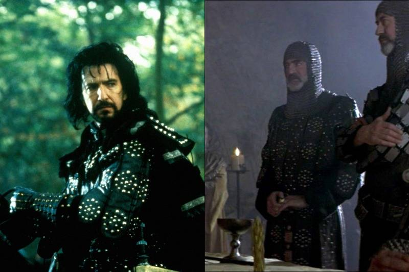 Black Leather Armor In Robin Hood: Prince of Thieves & Braveheart