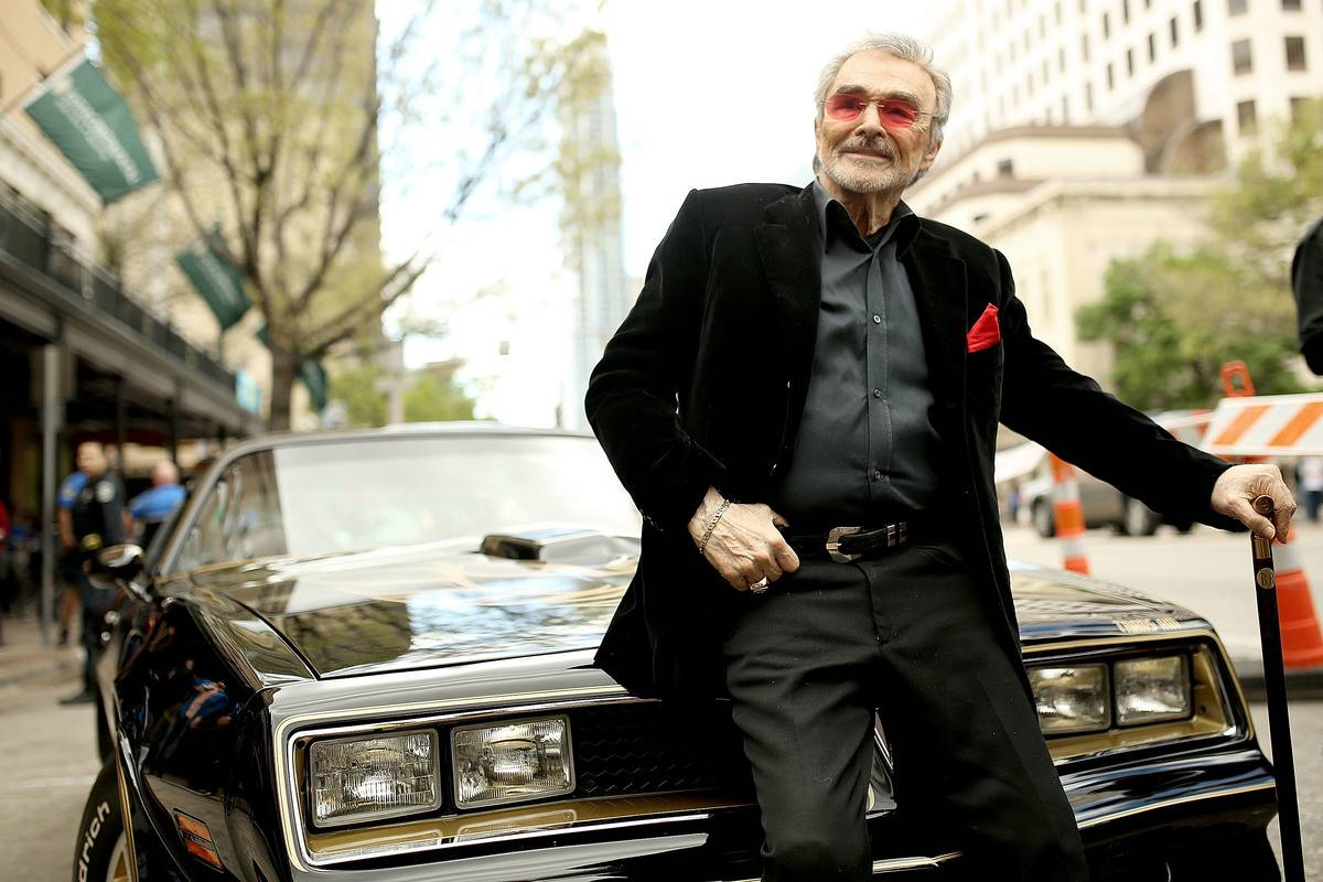 Actor Burt Reynolds attends the screening of