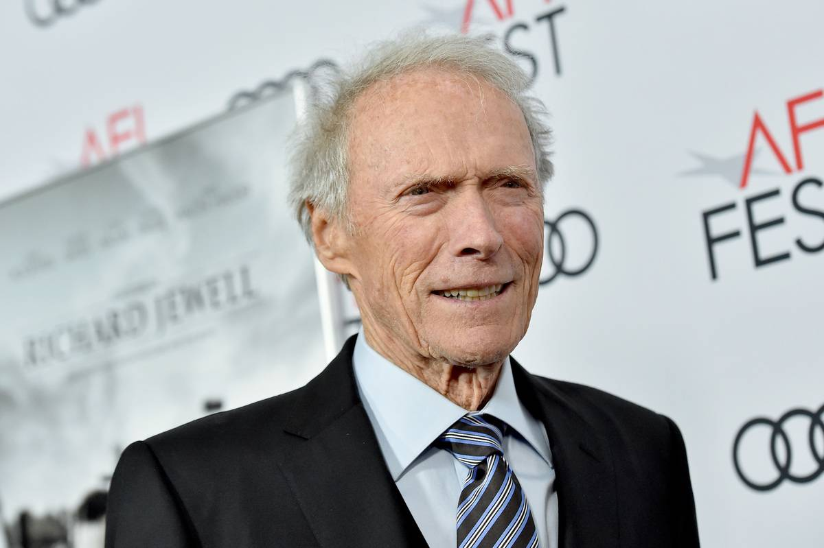 Clint Eastwood arrives for the premiere of