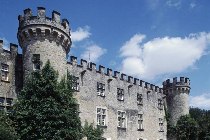 Crenellations Provided Protection While Soldiers Attacked