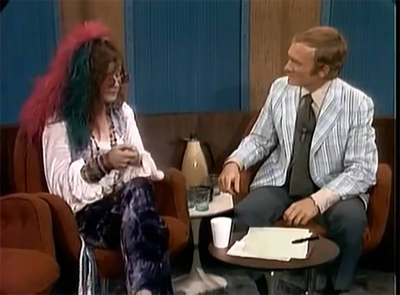 Janis Joplin on The Dick Cavett Show 1970.