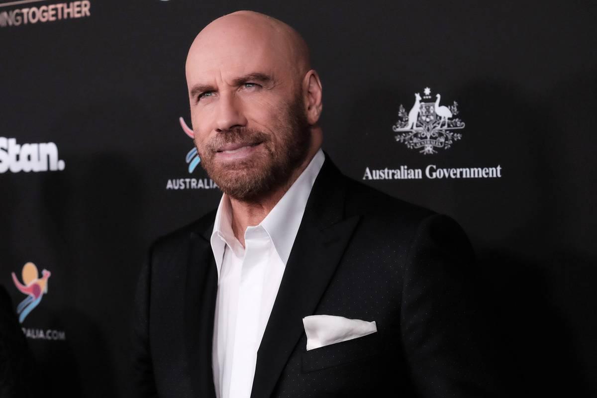 John Travolta attends the G'Day USA 2020.