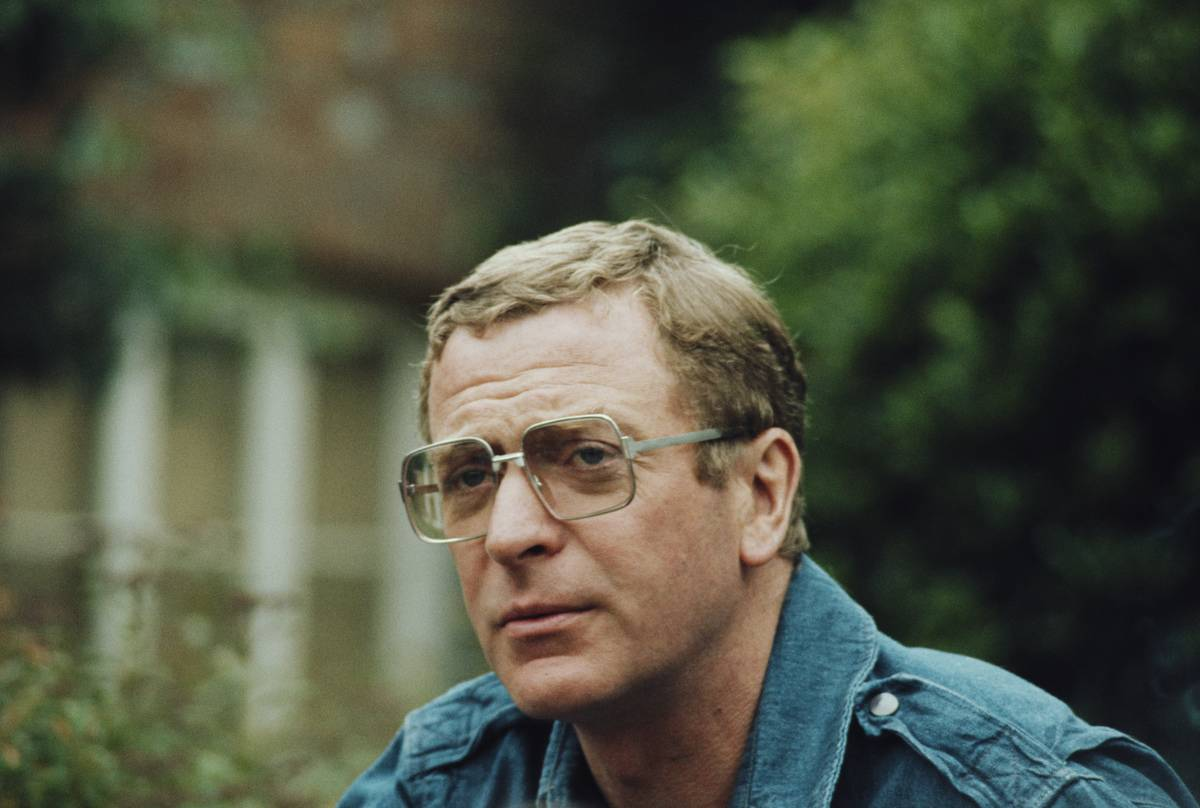 Actor Michael Caine appears in the movie