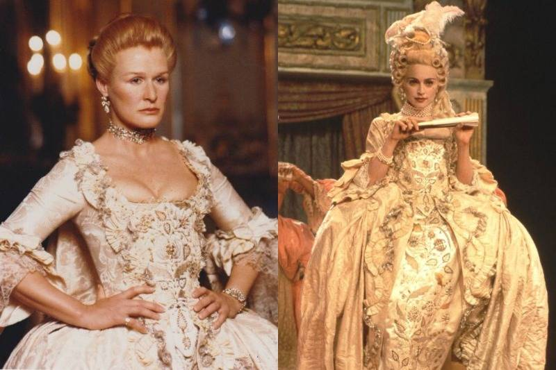 One Dangerous Liaisons Gown Is Worn In Madonna's