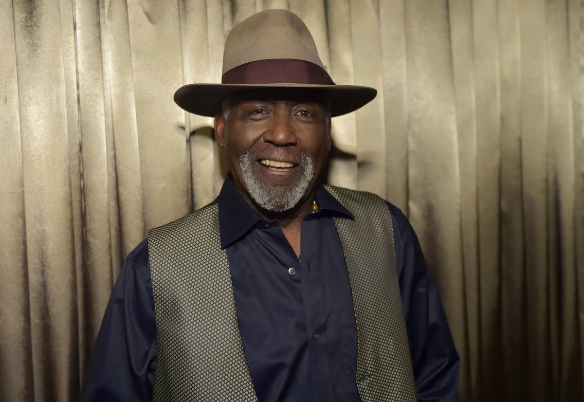 Actor Richard Roundtree appears at a 2015 screening of