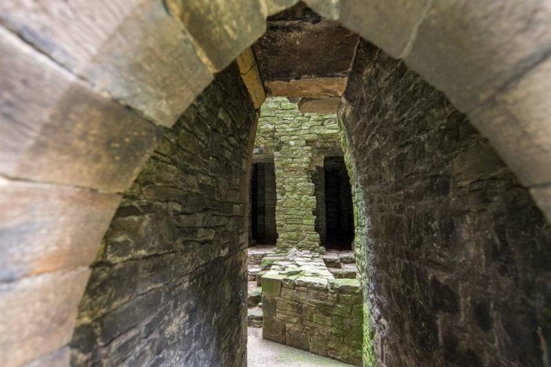 Secret Passages Provided A Way To Escape Enemies