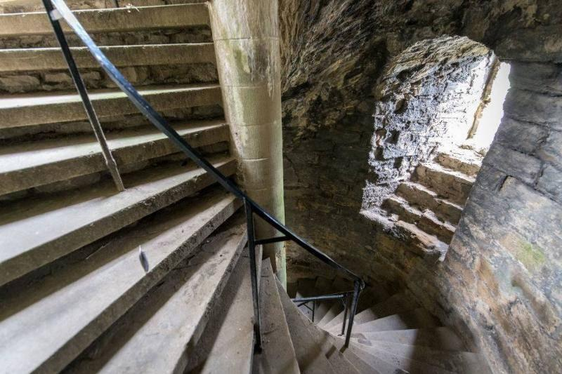 Spiral Staircases Went Clockwise For The Right-Handed