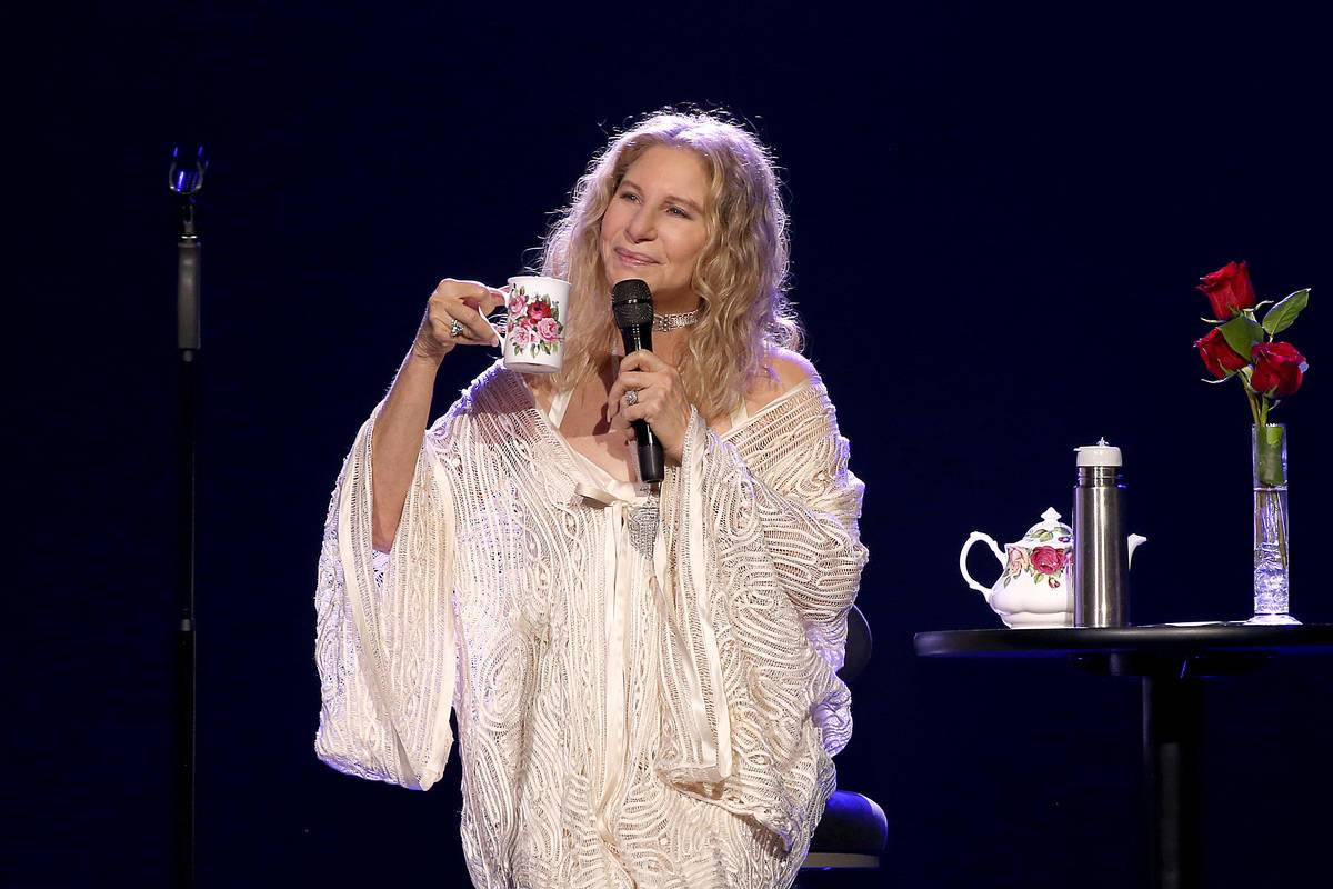 Barbra Streisand performs onstage at Madison Square Garden, 2019.