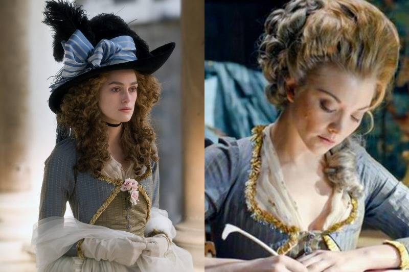 The 18th-Century Dress In The Duchess & The Scandalous Lady W
