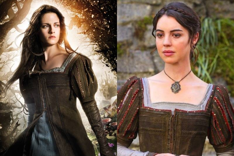 The Brown Gown In Snow White and the Huntsman & Once Upon a Time