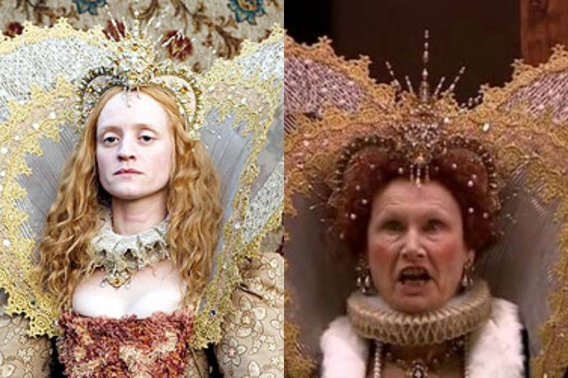 The Elizabeth Hood Worn In The Virgin Queen Is Kind Of Everywhere