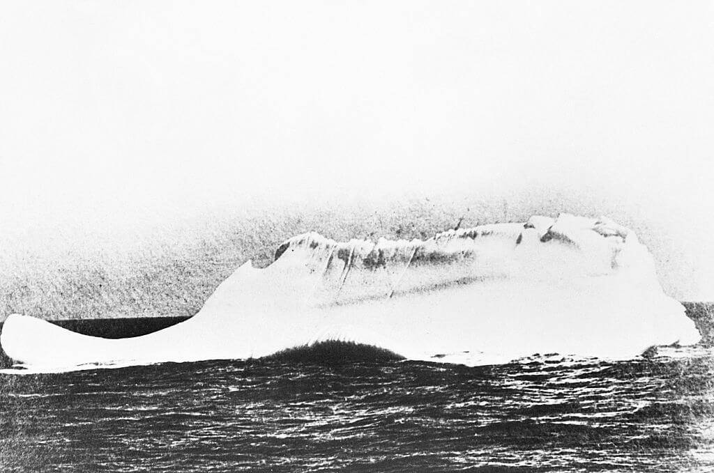 The Iceberg Was From 1000 BC