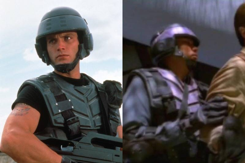 The Same Troop Uniforms Can Be Seen In Starship Troopers & Firefly