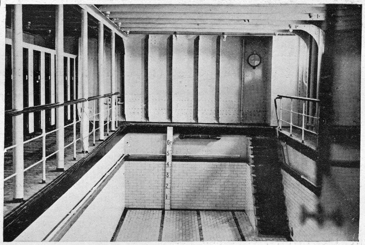 The Second Ocean Liner to Ever Have a Pool