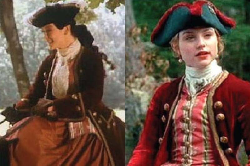 This Red Coat Dress Is Seen In Both Catherine The Great & Brotherhood Of The Wolf