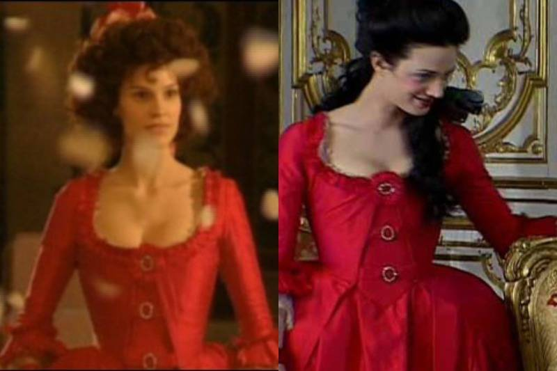 This Scarlet Dress In The Affair Of The Necklace & Marie Antoinette