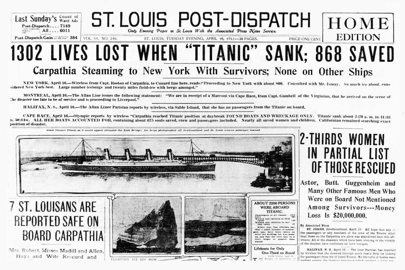 Victims Lost At Sea