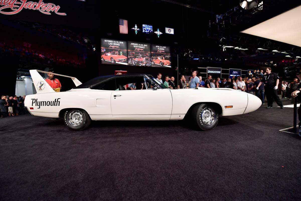 Barrett-Jackson Northeast Inaugural Auto Auction At M