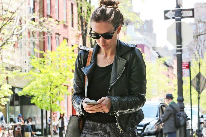 Celebrity Sightings In New York - April 30, 2015