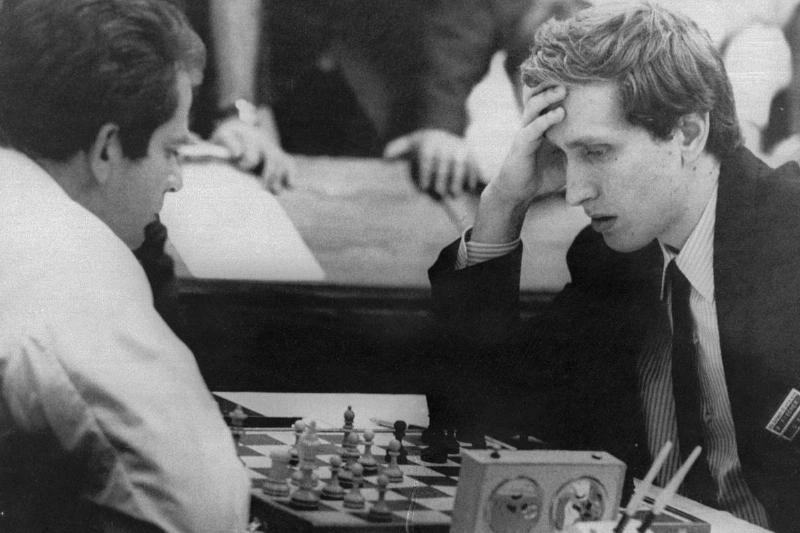 Chess Game Between Bobby Fischer and Boris Spassky