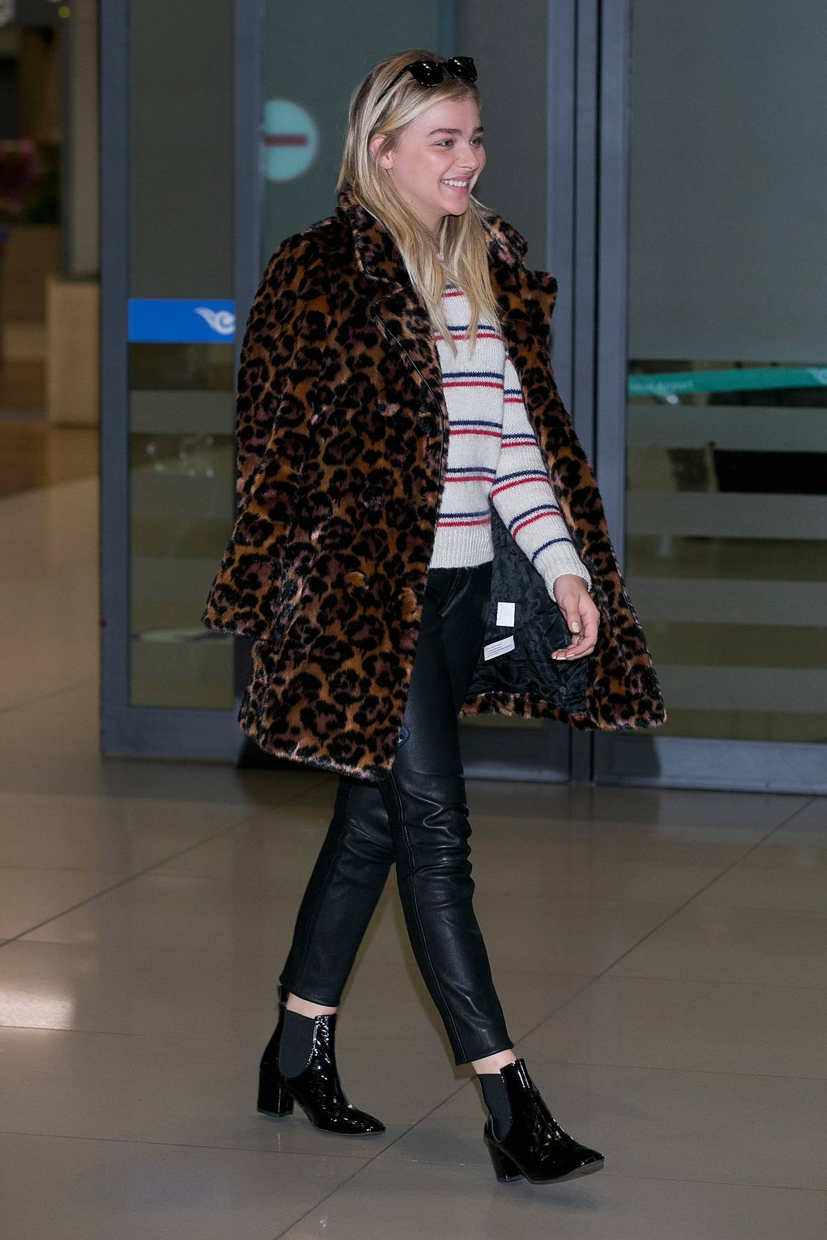 Chloe Moretz Arrives At Incheon Airport