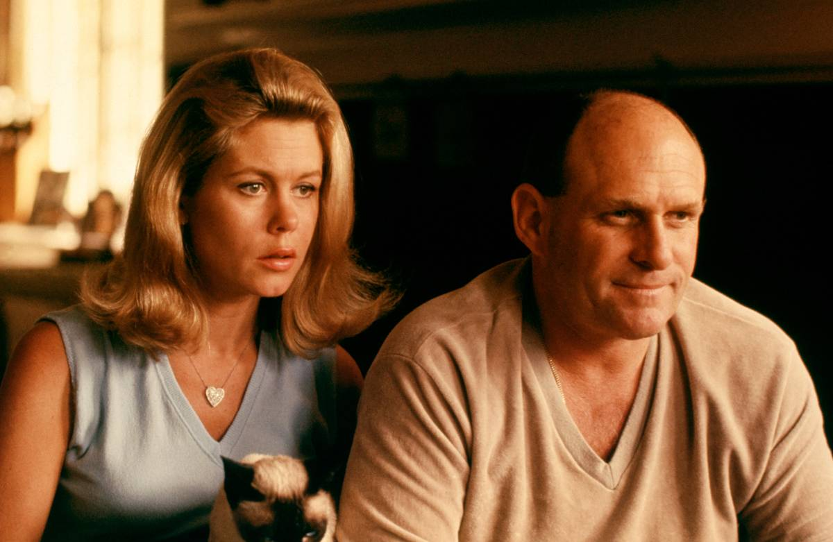 Elizabeth Montgomery And Bill Asher At Home