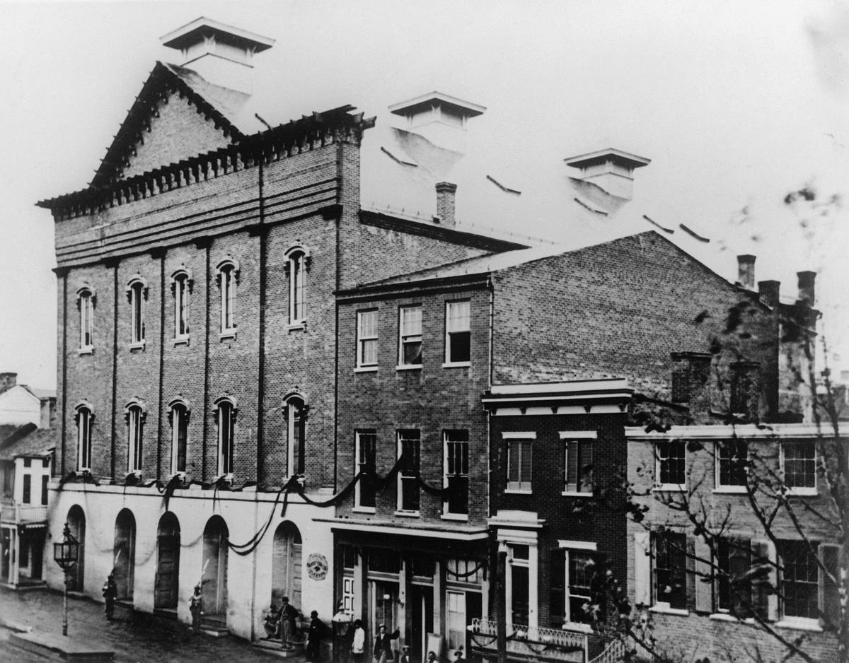 Exterior View of Ford's Theater