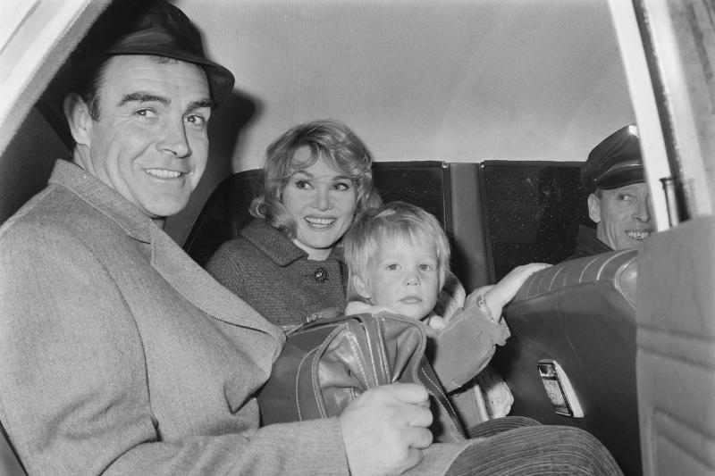 Sean Connery And Family