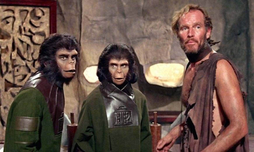 Actors in Planet of the Apes